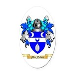 MacNevin Oval Car Magnet