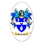 MacNevin Sticker (Oval 10 pk)