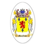 MacNess Sticker (Oval 50 pk)