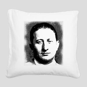 Carlo Gambino, American Mafia Square Canvas Pillow