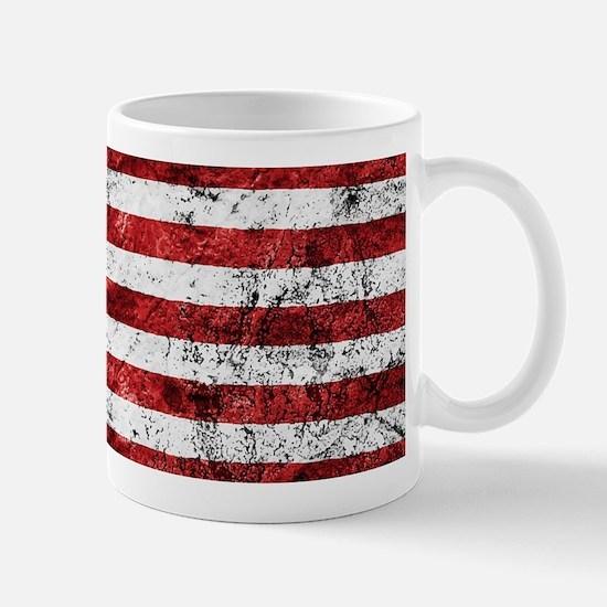 Grunge American Flag Mugs