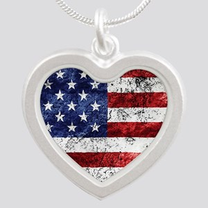 Grunge American Flag Necklaces