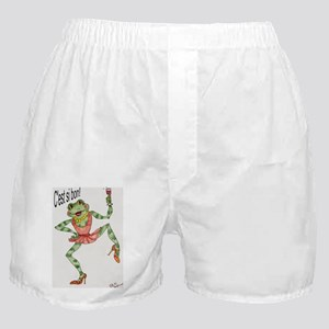 C'est si bon!  French Boxer Shorts