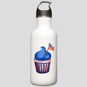 Watercolor 4th of July Stainless Water Bottle 1.0L