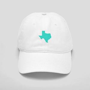 Turquoise Texas Outline Cap