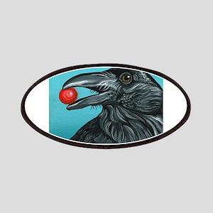 Black Raven Crow Patch