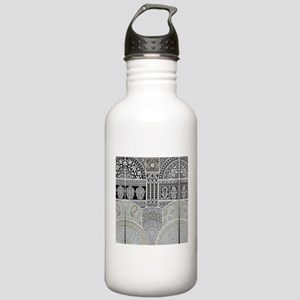 Ornamental Abstract De Stainless Water Bottle 1.0L