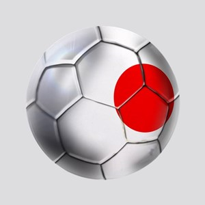 "Japanese Soccer 3.5"" Button"