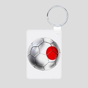 Japanese Soccer Aluminum Photo Keychain