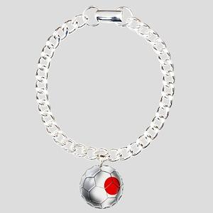 Japanese Soccer Charm Bracelet, One Charm