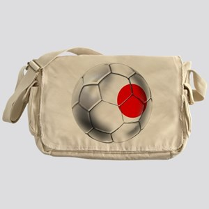 Japanese Soccer Messenger Bag