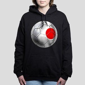 Japanese Football Women's Hooded Sweatshirt