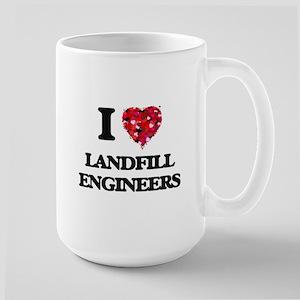 I love Landfill Engineers Mugs
