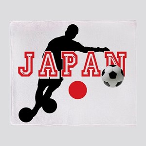 Japan Soccer Player Throw Blanket
