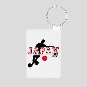 Japan Soccer Player Aluminum Photo Keychain