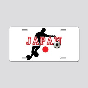 Japan Soccer Player Aluminum License Plate