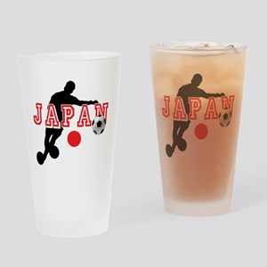 Japan Soccer Player Drinking Glass