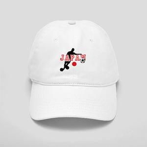 Japan Soccer Player Cap