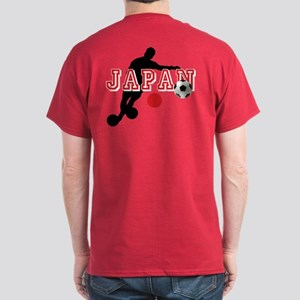 Japan Soccer Player Dark T-Shirt