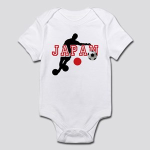 Japan Soccer Player Infant Bodysuit