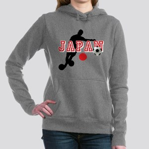 Japan Soccer Player Women's Hooded Sweatshirt