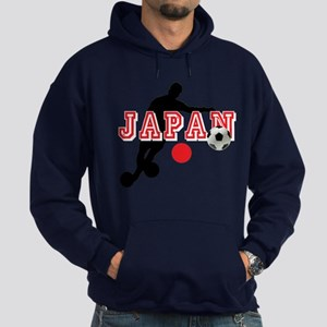 Japan Soccer Player Hoodie (dark)