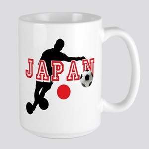 Japan Soccer Player Large Mug