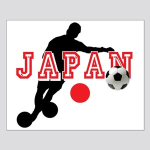 Japan Soccer Player Small Poster