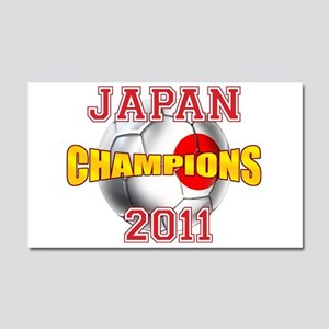 Japan 2011 World Cup Car Magnet 20 x 12