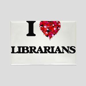I love Librarians Magnets