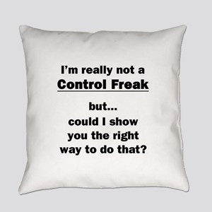 Control Freak Everyday Pillow