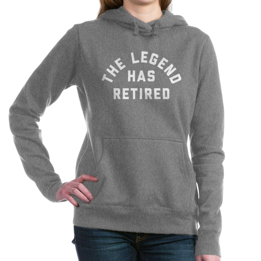 CafePress-The-Legend-Has-Retired-Pullover-Hoodie-158918362 thumbnail 19