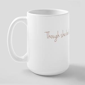 She is Fierece! Shakespeare Large Mug
