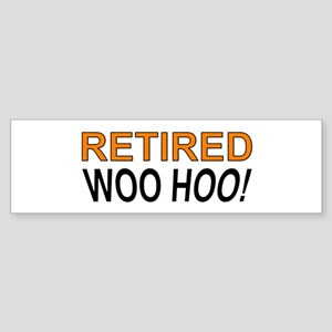 Retired Woo Hoo Bumper Sticker