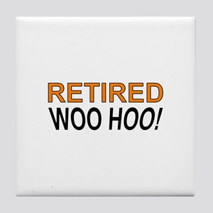 Retired Woo Hoo Tile Coaster