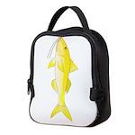 Gold Saddle Goatfish Neoprene Lunch Bag