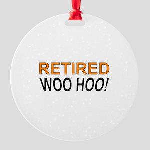 Retired Woo Hoo Round Ornament