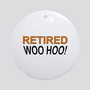 Retired Woo Hoo Ornament (Round)