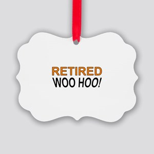 Retired Woo Hoo Picture Ornament