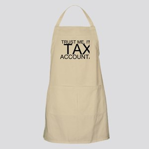 Trust Me, I'm A Tax Accountant Light Apron