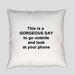 Gorgeous Day Everyday Pillow