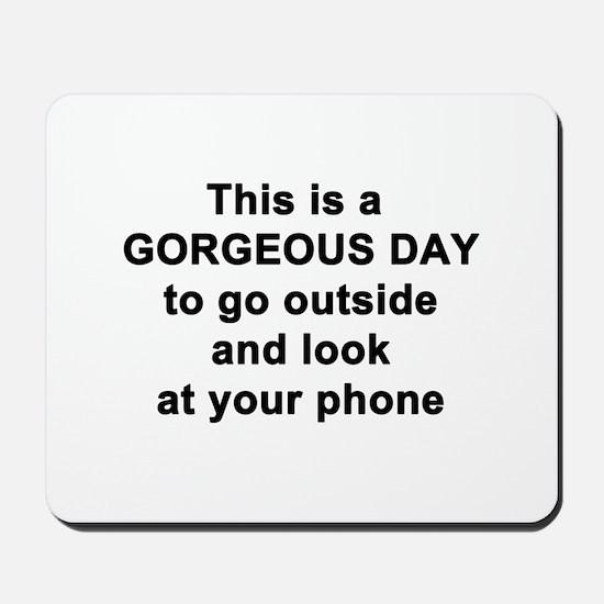Gorgeous Day Mousepad