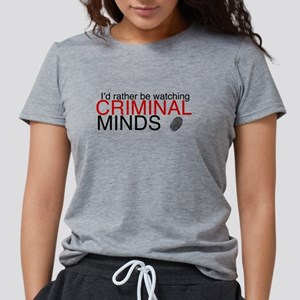 Watch Criminal Minds Womens Tri-blend T-Shirt
