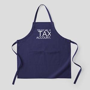Trust Me, I'm A Tax Accountant Apron (dark)