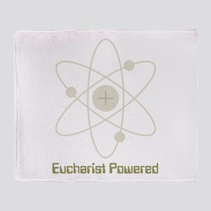 eucharistpowered_dark Throw Blanket