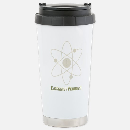 eucharistpowered_dark.p Stainless Steel Travel Mug