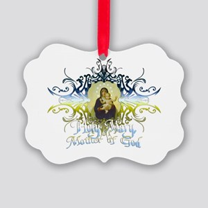 HolyMary Picture Ornament