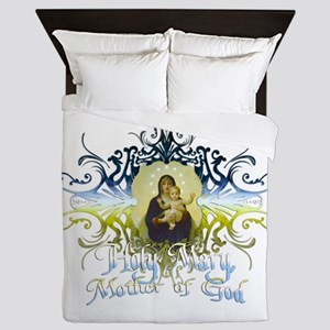 HolyMary Queen Duvet