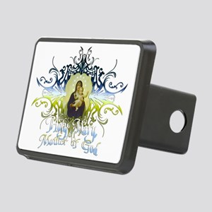 HolyMary Rectangular Hitch Cover