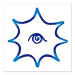 TBridge #2 (blue, nw) Square Car Magnet 3